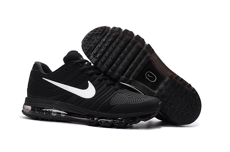 Air Max FREE SHIPPING Cheap Air Max 2017 White All Black